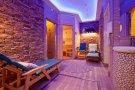 Finská sauna, odpočívárna a ochlazovací bazének